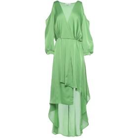 《期間限定セール開催中!》RELISH レディース ミニワンピース&ドレス グリーン S ポリエステル 100%