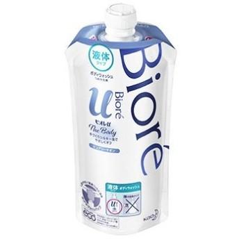 花王 ビオレu ザ ボディ 液体タイプ ピュアリーサボンの香り つめかえ用 (340mL) 詰め替え用 ボディウォッシュ