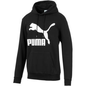 【プーマ公式通販】 プーマ CLASSICS ロゴ フーディー メンズ Puma Black |PUMA.com