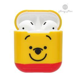 迪士尼正版授權 AirPods硬式保護套 小熊維尼