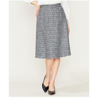 組曲 【セットアップ対応】ラメループモールツイード スカート その他 スカート,ネイビー系1