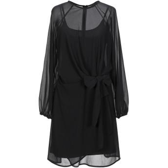 《セール開催中》SOALLURE レディース ミニワンピース&ドレス ブラック 40 ポリエステル 100%