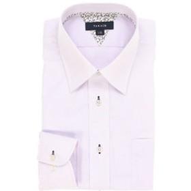 【TAKA-Q:トップス】形態安定レギュラーフィット レギュラーカラー長袖ビジネスドレスシャツ/ワイシャツ