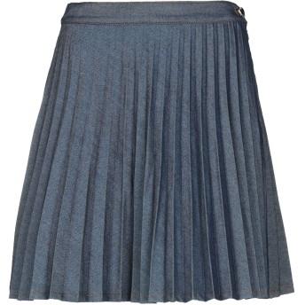 《セール開催中》MY TWIN TWINSET レディース デニムスカート ブルー XXS コットン 76% / ポリエステル 24%