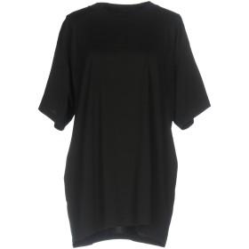 《期間限定セール開催中!》MM6 MAISON MARGIELA レディース T シャツ ブラック S コットン 100%
