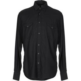 《期間限定セール開催中!》MACCHIA J メンズ シャツ ブラック 41 レーヨン 55% / コットン 45%