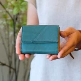 Soft Leather Mini Wallet / FOREST GREEN ミニ財布小さいお財布革財布
