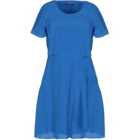 《期間限定セール開催中!》ARMANI EXCHANGE レディース ミニワンピース&ドレス ブルー 0 ポリエステル 100%
