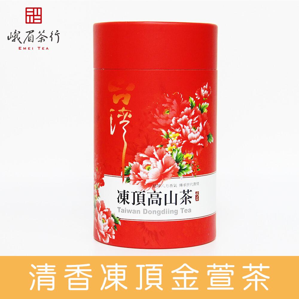 峨眉茶行清香 凍頂金萱茶0671(300g/罐)