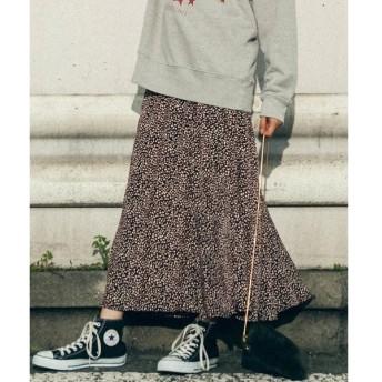 LIPSTAR / リップスター レオパード柄マーメイドスカート