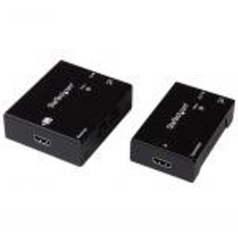 【新品/取寄品/代引不可】Cat5e/Cat6 HDMIエクステンダー(延長器) HDBaseT規格準拠 ウルトラ4K対応 パワ