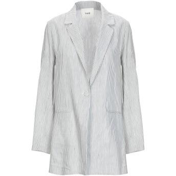 《セール開催中》SUOLI レディース テーラードジャケット ブラック 38 麻 51% / コットン 39% / シルク 10%