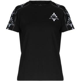 《セール開催中》MARCELO BURLON x KAPPA レディース T シャツ ブラック XS コットン 100% / ポリエステル