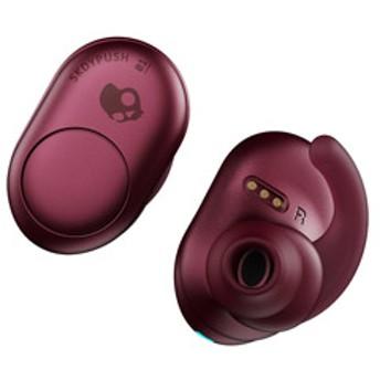 S2BBW-M706 フルワイヤレスイヤホン PUSH MOAB RED