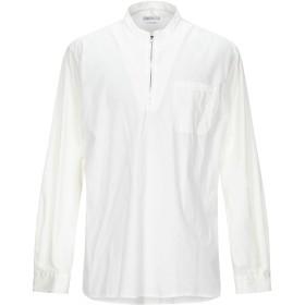 《期間限定セール開催中!》BERNA メンズ シャツ ホワイト M ポリエステル 65% / コットン 35%