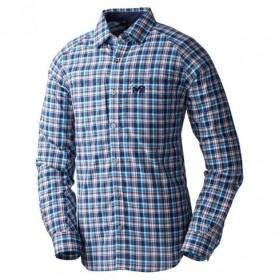 MILLET ミレー QD ボネット チェック LS シャツ Dark Navy XS MIV01241 MIV01241 長袖 ファッション メンズファッション トップス 長袖Tシャツ