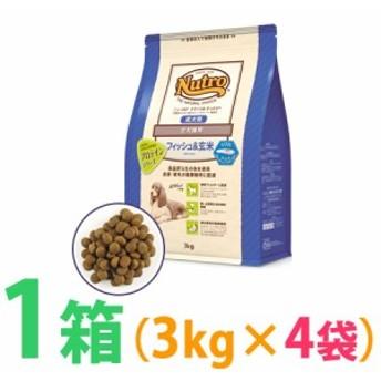 ◆《お得1箱(ケース)4袋セット》ナチュラルチョイス フィッシュ&玄米 ポテト入り 全犬種用 成犬用 3kg 【食物アレルギー配