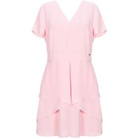 《9/20まで! 限定セール開催中》ARMANI EXCHANGE レディース ミニワンピース&ドレス ピンク 0 ポリエステル 100%