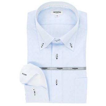 【TAKA-Q:トップス】イージーケア レギュラーフィット ボタンダウン長袖ビジネスドレスシャツ/ワイシャツ