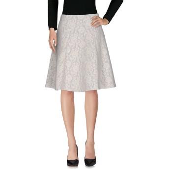 《セール開催中》BLUGIRL BLUMARINE レディース ひざ丈スカート アイボリー 42 ポリエステル 40% / ナイロン 24% / ポリウレタン 18% / モヘヤ 18%