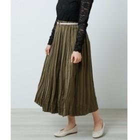 レイカズン(RAY CASSIN)/リバーシブルプリーツスカート