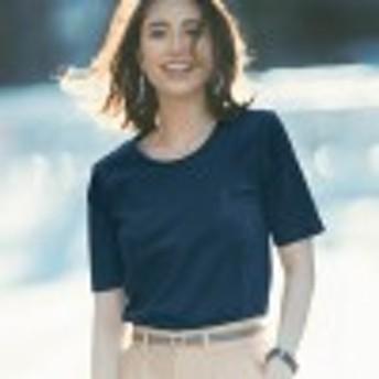 イマドキべーシック女っぽTシャツ