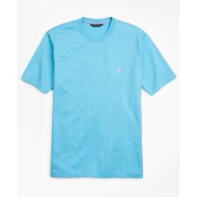 Brooks Brothers(ブルックス ブラザーズ) スーピマコットン GF Tシャツ 半袖 32716955 アクア XS