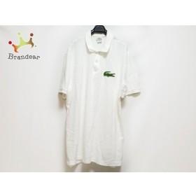 ラコステ Lacoste 半袖ポロシャツ サイズ8 メンズ 白 新着 20190903