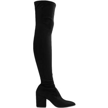 《セール開催中》STEVE MADDEN レディース ブーツ ブラック 6 紡績繊維 JANEY BOOT