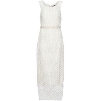 《セール開催中》MARCHESA NOTTE レディース ロングワンピース&ドレス アイボリー 10 ポリエステル 100% / ナイロン