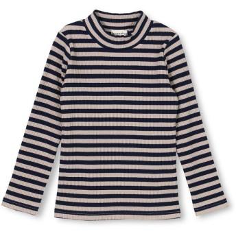ブランシェス テレコハイネックTシャツ レディース ベージュ 120cm 【branshes】