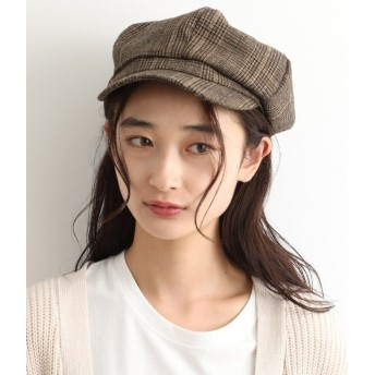 ビス/【予約】/ウールキャスケット/ブラウン系/F