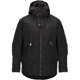 《セール開催中》TRUSSARDI メンズ コート ブラック S ポリエステル 100%
