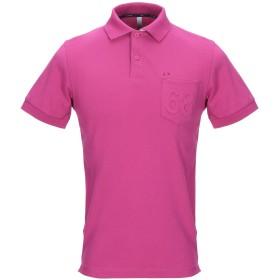 《セール開催中》SUN 68 メンズ ポロシャツ フューシャ S コットン 95% / ポリウレタン 5%