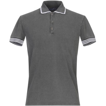 《期間限定セール開催中!》WOOL & CO メンズ ポロシャツ 鉛色 M コットン 100%