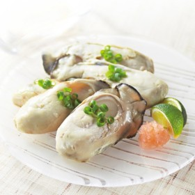 <1kg>広島県産ふっくら蒸し牡蠣Mサイズ
