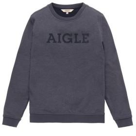 【30%OFF】 エーグル フリーラウンド フリース メンズ ダークネイビー M 【AIGLE】 【セール開催中】