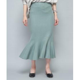 CIAOPANIC(チャオパニック) レディース マーメイドニットスカート ミント