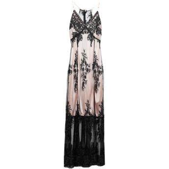《セール開催中》SILVIAN HEACH レディース ロングワンピース&ドレス ブラック XS ナイロン 100% / ポリエステル / 金属
