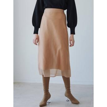 LAGUNAMOON ラグナムーン オーガンジーナロースカート