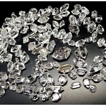 ハーキマーダイヤモンド結晶原石 2-6mm
