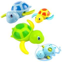 兒童戲水玩具 浴室洗澡小烏龜發條玩具-3隻入