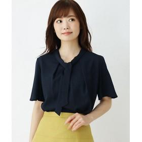 【SALE(伊勢丹)】<SOUP> ジョーゼットボウタイシャツ(2001581396) アオ 【三越・伊勢丹/公式】