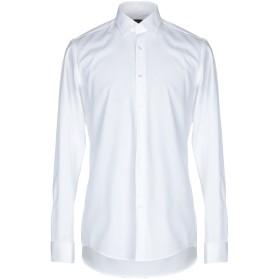 《期間限定セール開催中!》BOSS HUGO BOSS メンズ シャツ ホワイト 44 コットン 100%
