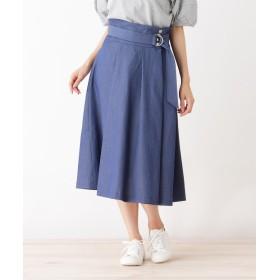 HusHusH(Ladies)(ハッシュアッシュ(レディース)) シャンブレースカート