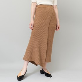 [マルイ]【セール】アシンメトリーリブニットスカート/オズモーシス(OSMOSIS)