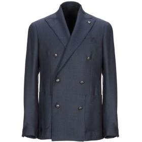 《セール開催中》SARTORIA LATORRE メンズ テーラードジャケット ブルーグレー 48 ウール 100%