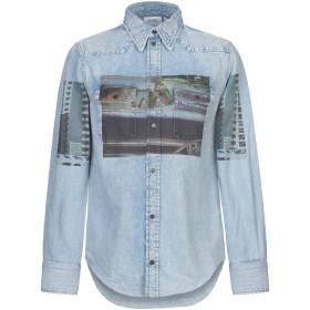 《期間限定セール開催中!》CALVIN KLEIN JEANS メンズ デニムシャツ ブルー S コットン 100%