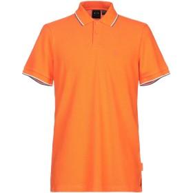 《期間限定 セール開催中》ARMANI EXCHANGE メンズ ポロシャツ オレンジ XS コットン 100%