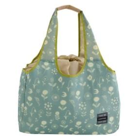 バッグ カバン 鞄 レディース エコバッグ マチュリテマイクーラー 保冷エコバッグL カラー 「サックス」
